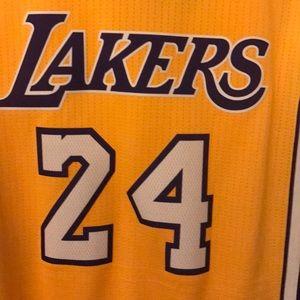 adidas Shirts - NBA Lakers Kobe Bryant Adidas Swingman Jersey
